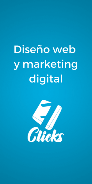 Banner de 7 clicks diseño web y marketing digital